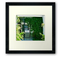 Through the Gate Framed Print