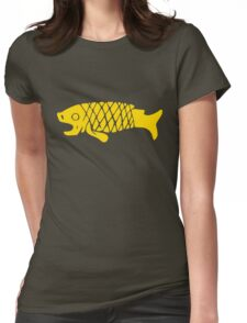 Ancient Mexico Fish Womens Fitted T-Shirt