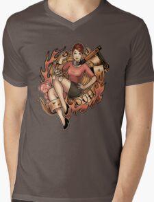 DUH! Mens V-Neck T-Shirt