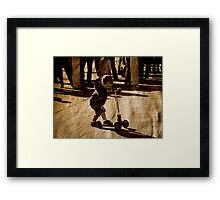 Kids need Fun Framed Print