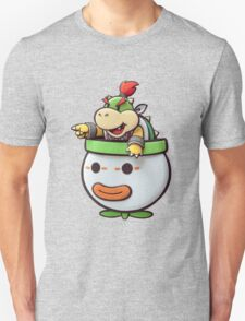 Bowser Jr. in his clown car! Unisex T-Shirt
