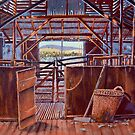 Corona Woolshed Interior by Michael Jones