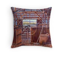 Corona Woolshed Interior Throw Pillow