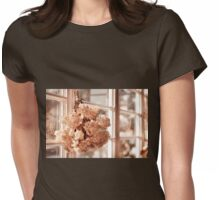 hortensia old dried bouquet Womens Fitted T-Shirt
