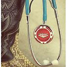 Las Vegas Western Doctor Stethoscope by doorfrontphotos