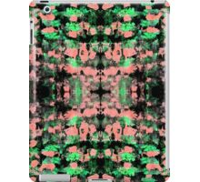 Abstract pattern design in trendy colours iPad Case/Skin