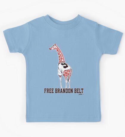 Free Brandon Belt Giraffe Kids Tee