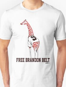Free Brandon Belt Giraffe T-Shirt