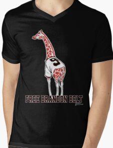 Free Brandon Belt Giraffe Mens V-Neck T-Shirt