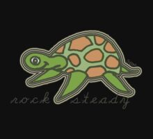Rock Steady turtle Kids Clothes