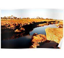 Rocky Waterway Western Australia Poster