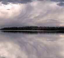 Brushstroke - 2nd Cut - Narrabeen Lakes, Sydney - The HDR Experience by Philip Johnson
