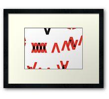 VX Framed Print