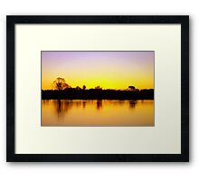 After The Gold Rush Framed Print