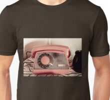 Retro rotary dial phone sepia toned Unisex T-Shirt