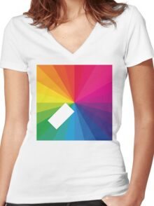 Jamie xx - In Colour Women's Fitted V-Neck T-Shirt