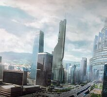 City of the Future by Jonathan Lam