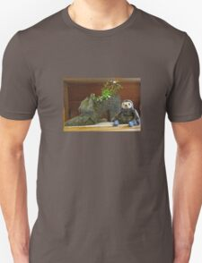 Sloth with Antique Shoe T-Shirt