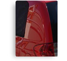 Auto Abstract - Red Canvas Print
