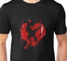 mocking jay heart logo Unisex T-Shirt