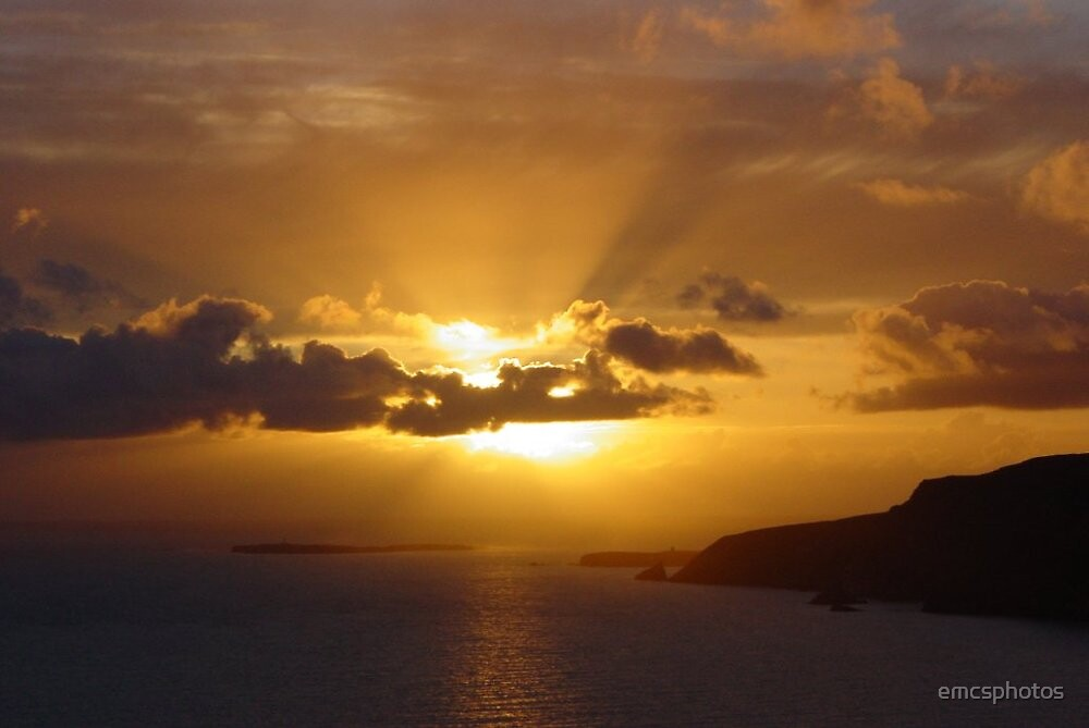 Donegal Sunset - Bunglas Sliabh Liag by emcsphotos