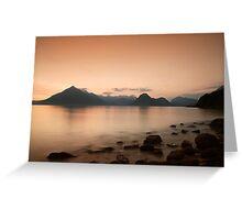 11.15 pm Isle of Skye Greeting Card