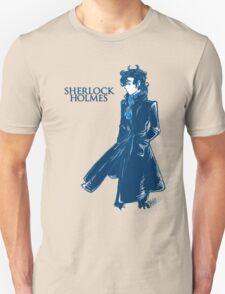 Sherlock Holmes - Blue T-Shirt