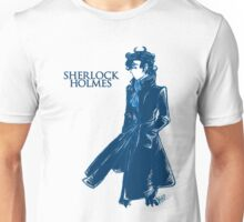 Sherlock Holmes - Blue Unisex T-Shirt