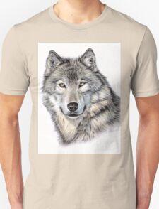 The Wolf Portrait T-Shirt