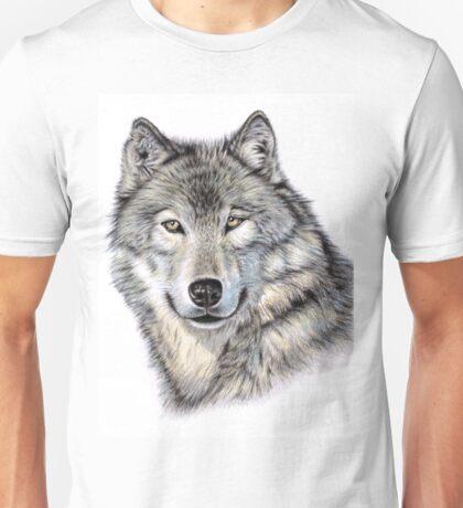 The Wolf Portrait Unisex T-Shirt