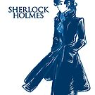 Sherlock Holmes - Blue by Sno-Oki