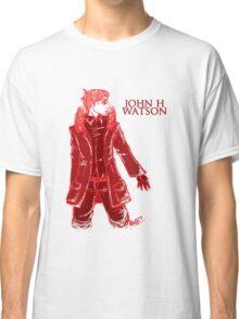 John Watson - Red - Text Classic T-Shirt