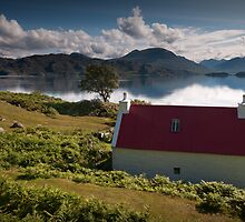 Red House by the loch by chriscyner