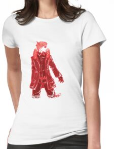 John Watson - Red - No Text Womens Fitted T-Shirt