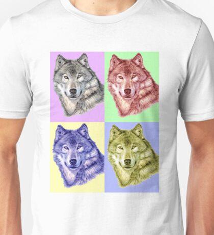 Wolf PopArt Unisex T-Shirt