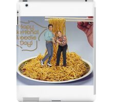 National Noodle Day iPad Case/Skin