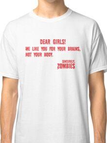 Zombie Letter Classic T-Shirt