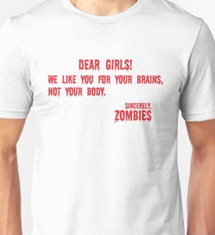 Zombie Letter Unisex T-Shirt