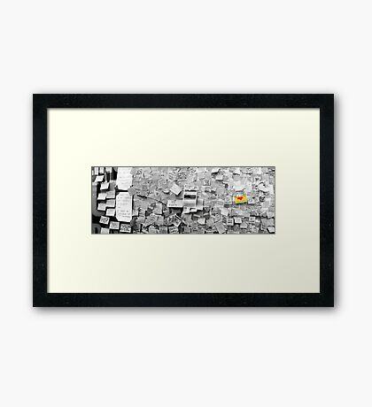 I Love Peckham Framed Print