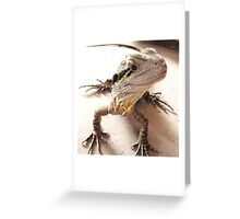 Where have you been? I'm starving! Greeting Card