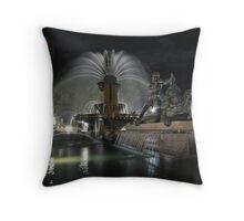 Archibald Fountain Hyde Park Sydney Throw Pillow