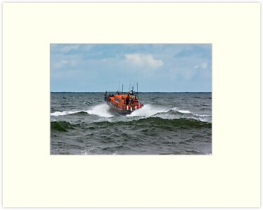 RNLI Lifeboat - &quot;Grace Darling&quot; by Trevor Kersley