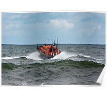 "RNLI Lifeboat - ""Grace Darling"" Poster"