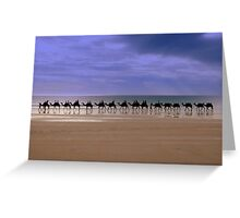 A Straight Line Greeting Card