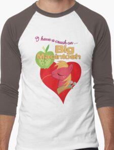 I have a crush on... Big Macintosh - with text Men's Baseball ¾ T-Shirt
