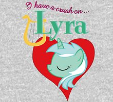 I have a crush on... Lyra - with text Unisex T-Shirt