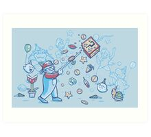 Mario Party Art Print