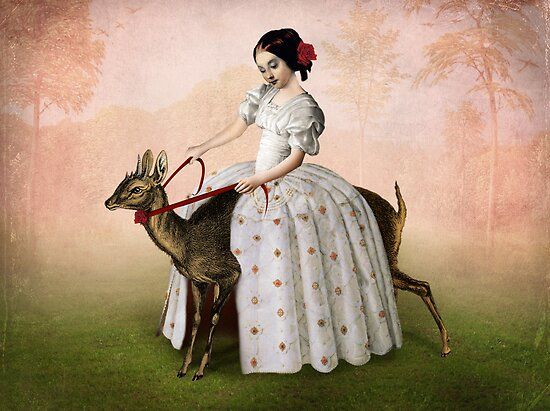 Ride at Dawn by Catrin Welz-Stein