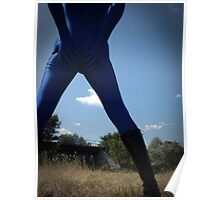 Blue Solitary Set II Pic 01 Poster