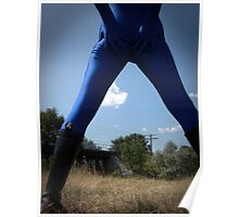 Blue Solitary Set II Pic 02 Poster